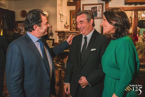 Pepe López Rey de Sercamán, José Luis Humanes y Cuca Díaz de la Cuerda