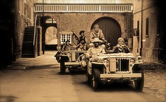 'Dockyard Patrol' (andrew_@oxford) Tags: chatham historic dockyard salute 1940s ww2 wartime lrgd long range desert group