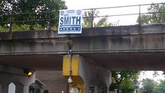 Old Campaign Sign (artistmac) Tags: chicago il illinois city urban street englewood darrylsmith candidate lost campaignsign viaduct 59th 59thst 59thstreet