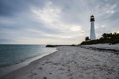 Cape Florida Lighthouse (Sally Dunford) Tags: sallyjanuary2016 sallymiami2016 capefloridalighthouse miamiflorida lighthouse ocean canon7d canon1755mm