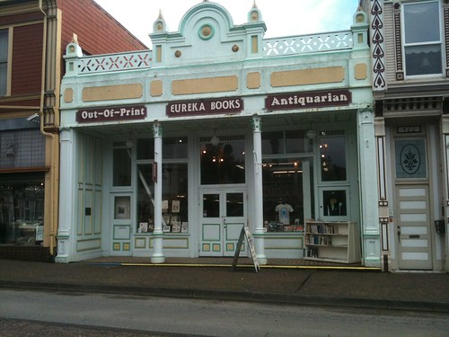 I'm in Eureka. Is that Amy Stewart's husband's bookstore?
