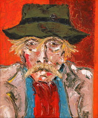01 óleo sobre lienzo   54x45 cm 1972 (arteneoexpresionista) Tags: rando jorge