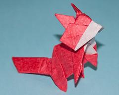 Fox (cjbnc) Tags: origami toshikazukawasaki origamifortheconnoisseur