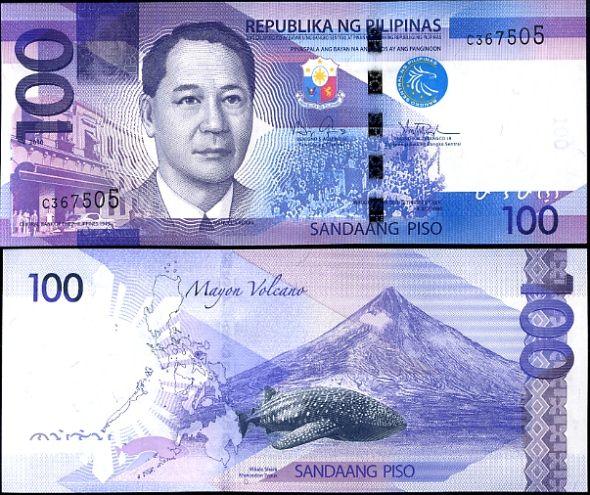 100 Piso Filipíny 2010-11