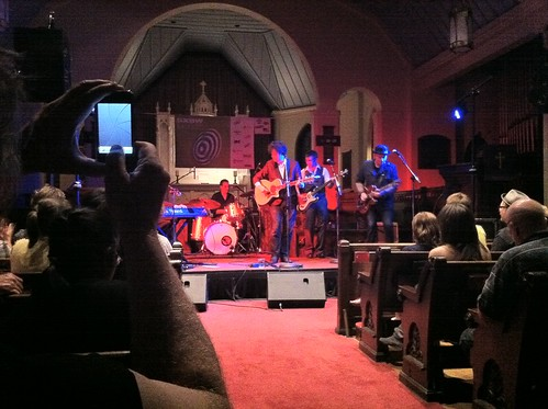 Ron Sexsmith at St. David's Sanctuary