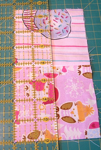 Altered Four Square Quilt Block Tutorial: Cutting the Framing Pair