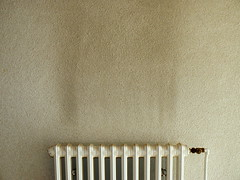Wallpaper. (remember moments) Tags: wallpaper white wall dirty boring heater minimalism heating iloveit dietmarvollmer