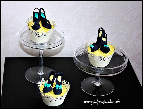 Heel collection cupcakes
