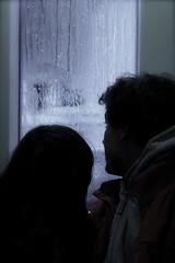 calor interno (ferendus) Tags: rain lluvia couple pareja pluie tram interno calor estambul tranva hotinside