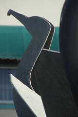 Heritage Fountain #2 (Home Land & Sea) Tags: newzealand sculpture bird metal 1996 nz publicart waterfeature napier pointshoot sonycybershot hawkesbay gannet marineparade galvanisedsteel paramatchitt heritagefountain dsch3 homelandsea