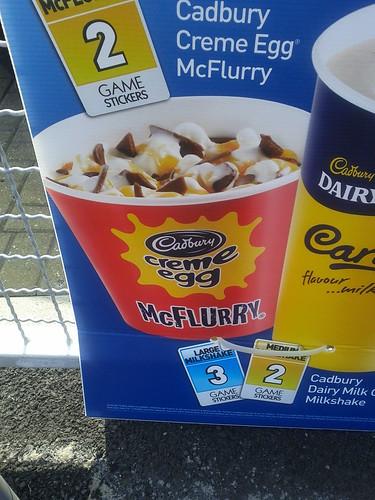 Cadbury creme egg flurry