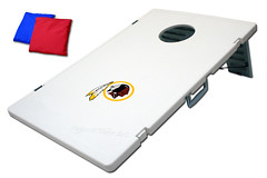 Washington Redskins TailGate Toss 2.0 Plastic Cornhole Boards