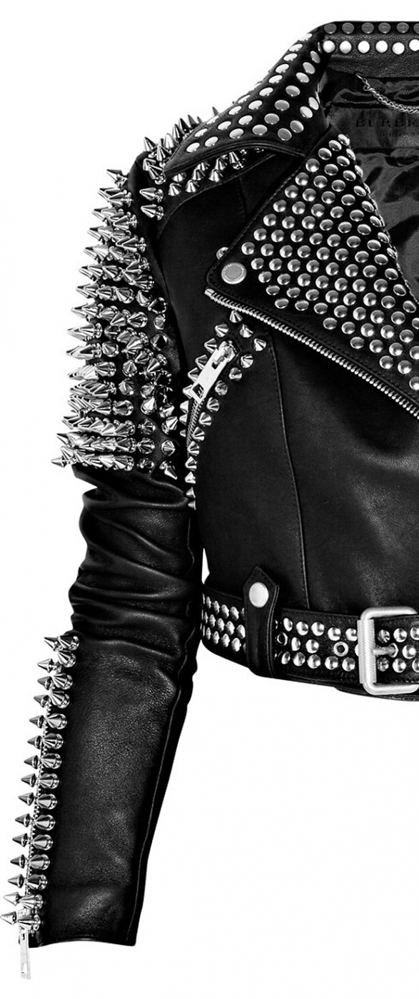 Burberry Prorsum studded jacket 1