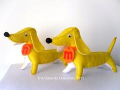 Co Salsicha/Dachshund (A.casa.do.Guaxinim) Tags: boneco felt dachshund softie feltro cosalsicha