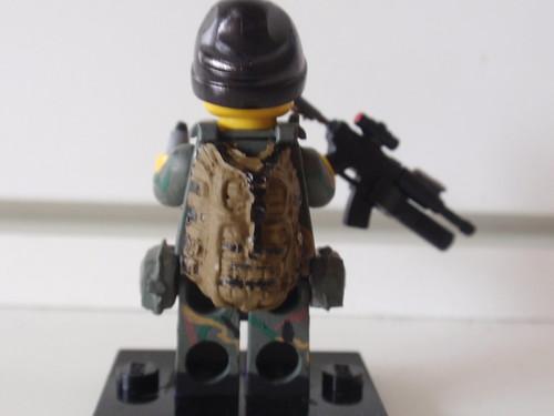 Custom minifig US Marine Force Recon