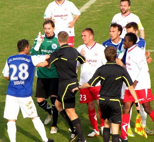 IMG_9495 Hallescher FC vs. 1. FC Magdeburg (Landespokal/ Cup of Saxony-Anhalt)