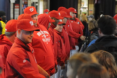 Washington Nationals players greet fans at NatsFest