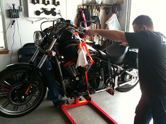 places harborfreight motorcyclelift