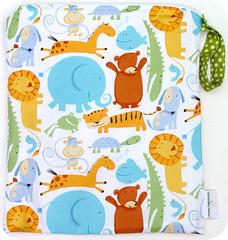 Monkey Foot Designs XL 16 x 22 Oh Boy Wet Bag with Sealed Seams