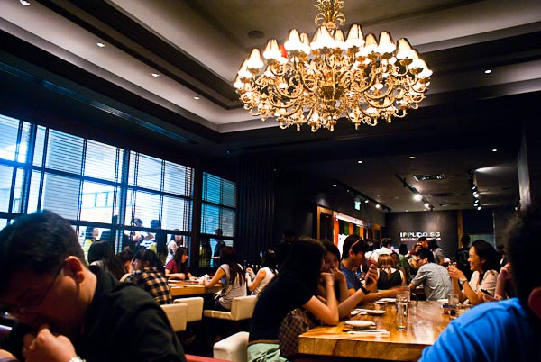 Crowd in Ippudo SG