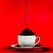 Dry coffee