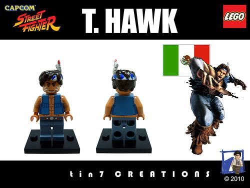 Custom minifig #10 - T. Hawk custom minifig