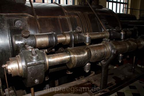 Dampfmaschine Erlebnisbergwerk Sondershausen