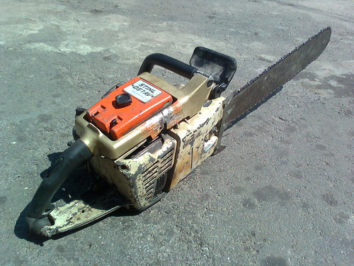 Old Stihl Chainsaw #-7old stihl 051av 2 all rights reserved