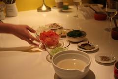 馬賽海鮮燉飯備料