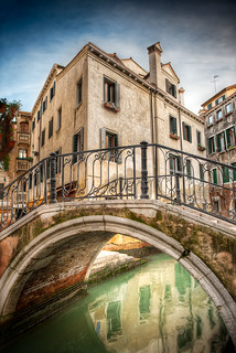 The Mossy Bridge - (HDR Venice, Italy)