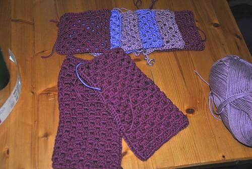 Polswarmers en sjaal