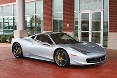 Grigio Alloy. (a7xbass94) Tags: blue light sport st yellow silver louis italia grigio wheels gray ferrari motorsports alloy calipers 458
