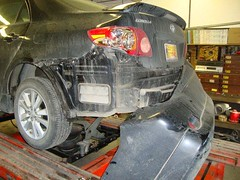ripped bumper