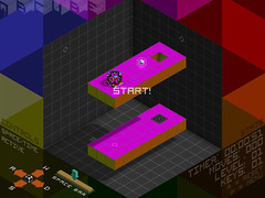 QBCUBE Screenshot - Level 1 - Parallel Worlds