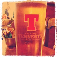 Pint of Tennent's