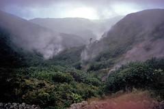 Eruption phratique de la Soufrire en 1976. (sybarite48) Tags: volcano caribbean guadalupe vulcano guadeloupe antilles caribe volcan vulkan vulkaan vulco volkan caraibi volcn  carabes soufrire karibik basseterre guadalupa  volcanisme wulkan  karaiby petitesantilles fumerolles ruption  gwadelupa karayip fumerolle   phratique  soufriredeguadeloupe