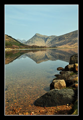 loch etive (marlesghillie) Tags: reflection scotland loch glenetive mountans lochetive