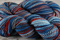 "Mosaic Moon's ""Nordic Sweater"" 2ply Superfine Merino Handspun"