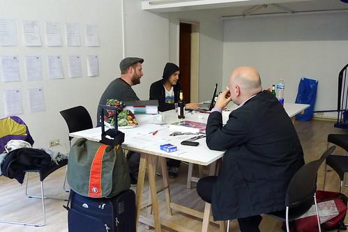 The Office bei der Arbeit mit Saul Judd