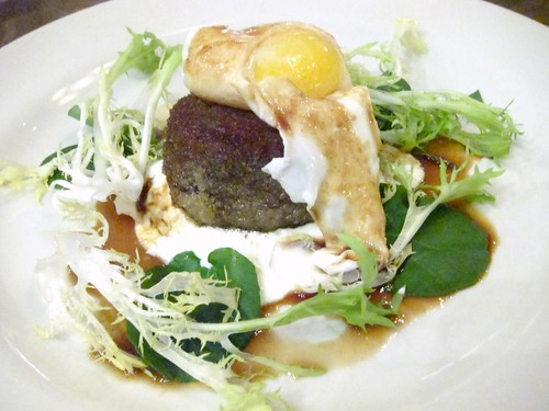 Oxtail Galette, Poached Egg