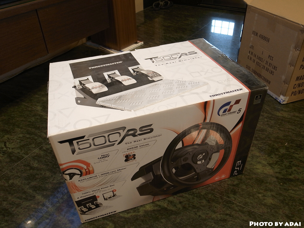 Thrustmaster T500RS unboxing