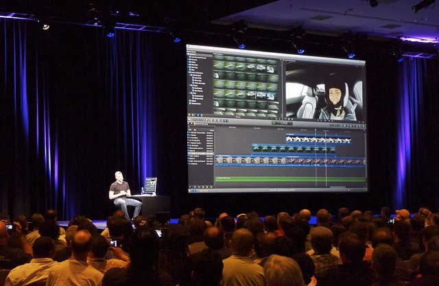 Randy Ubillos demos Final Cut Pro X
