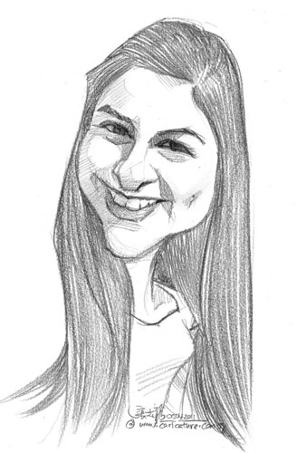 caricature in pencil - 18