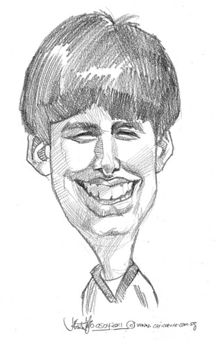 caricature in pencil - 14