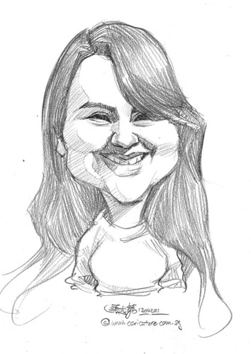 caricature in pencil - 65