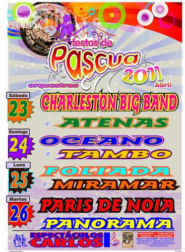 Padrón 2011 - Pascua - cartel orquestras grande