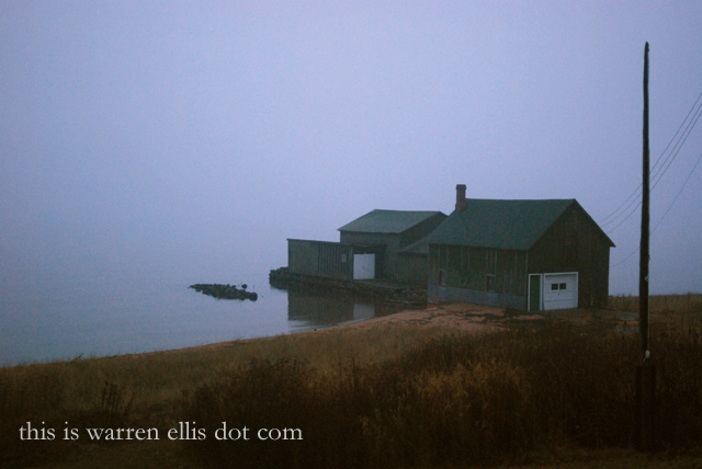 Station Ident: Boathouse at the End of the World