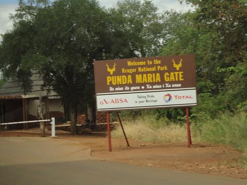 At the Kruger Gate