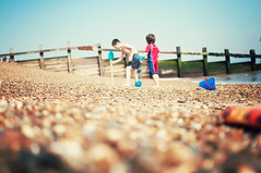 My big brother and me (Paisley patches) Tags: beach 35mm seaside sand nikon raw nikkor coastuk familyuk griffinandharry lovehowharryfollowsgriffinaroundnowwantinginonhisaction theyplaysowelltogethernow