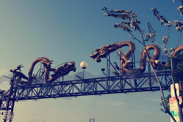 Golden Dragon Entrance